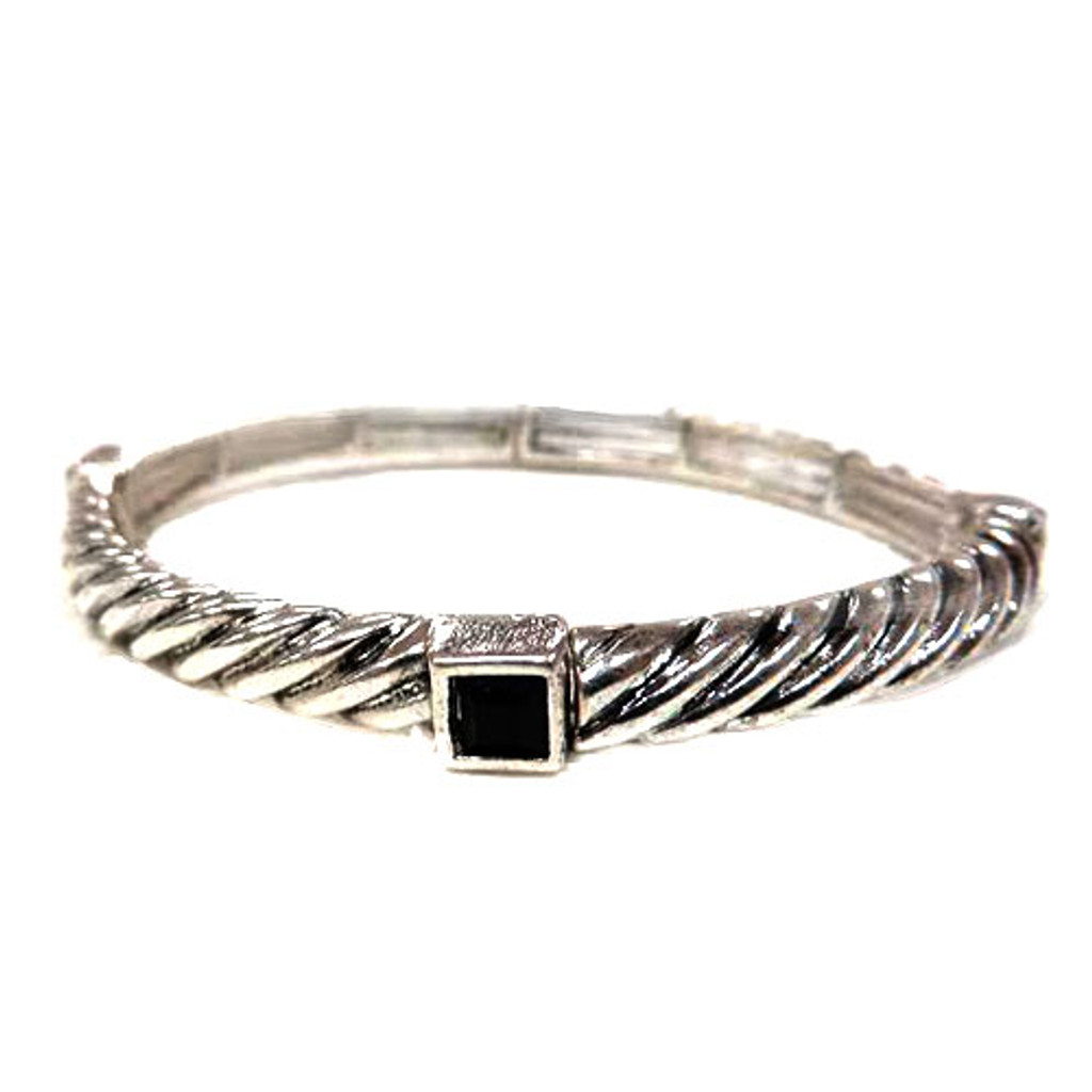 P.S. I Love You Twisted Cable Bangle