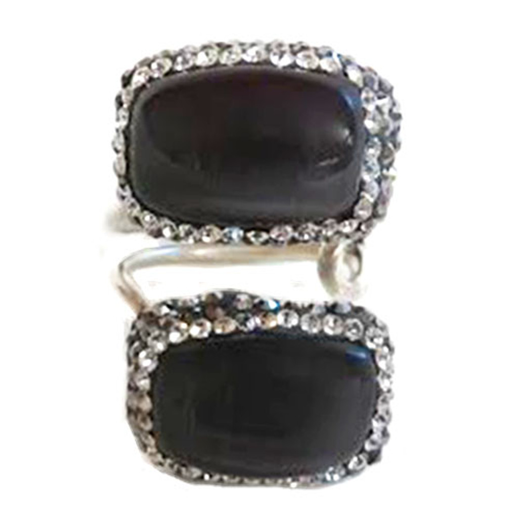 Botswana Agate Gemstones Ring