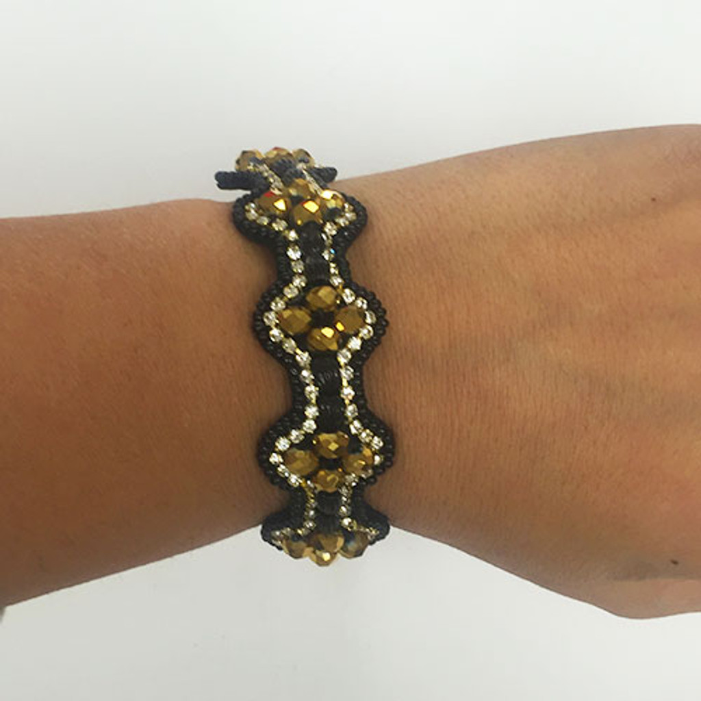 Catrice Hand Stitched Beaded Bracelet 1
