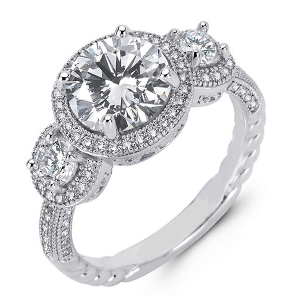 Lafonn's Now and Forever Diamond Ring