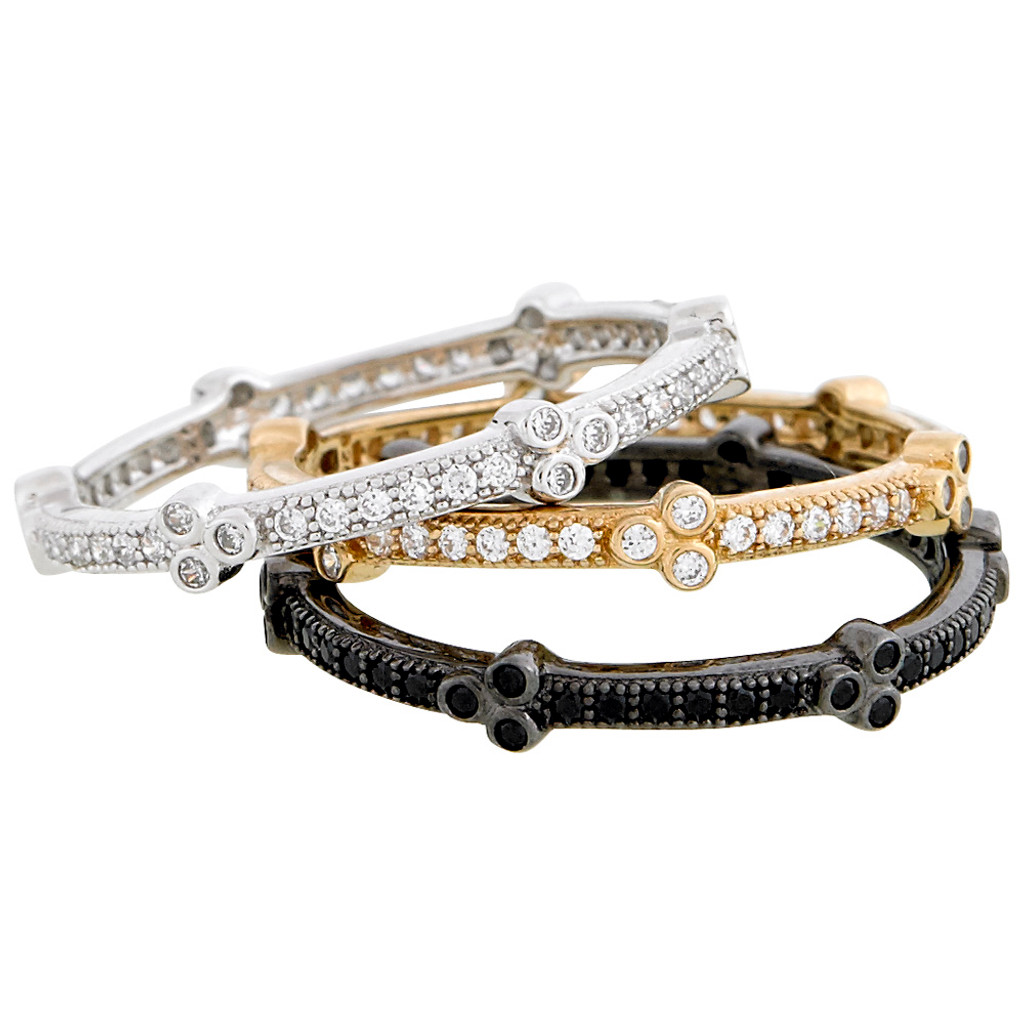 Eternity Stackable Micro-Pave Bands