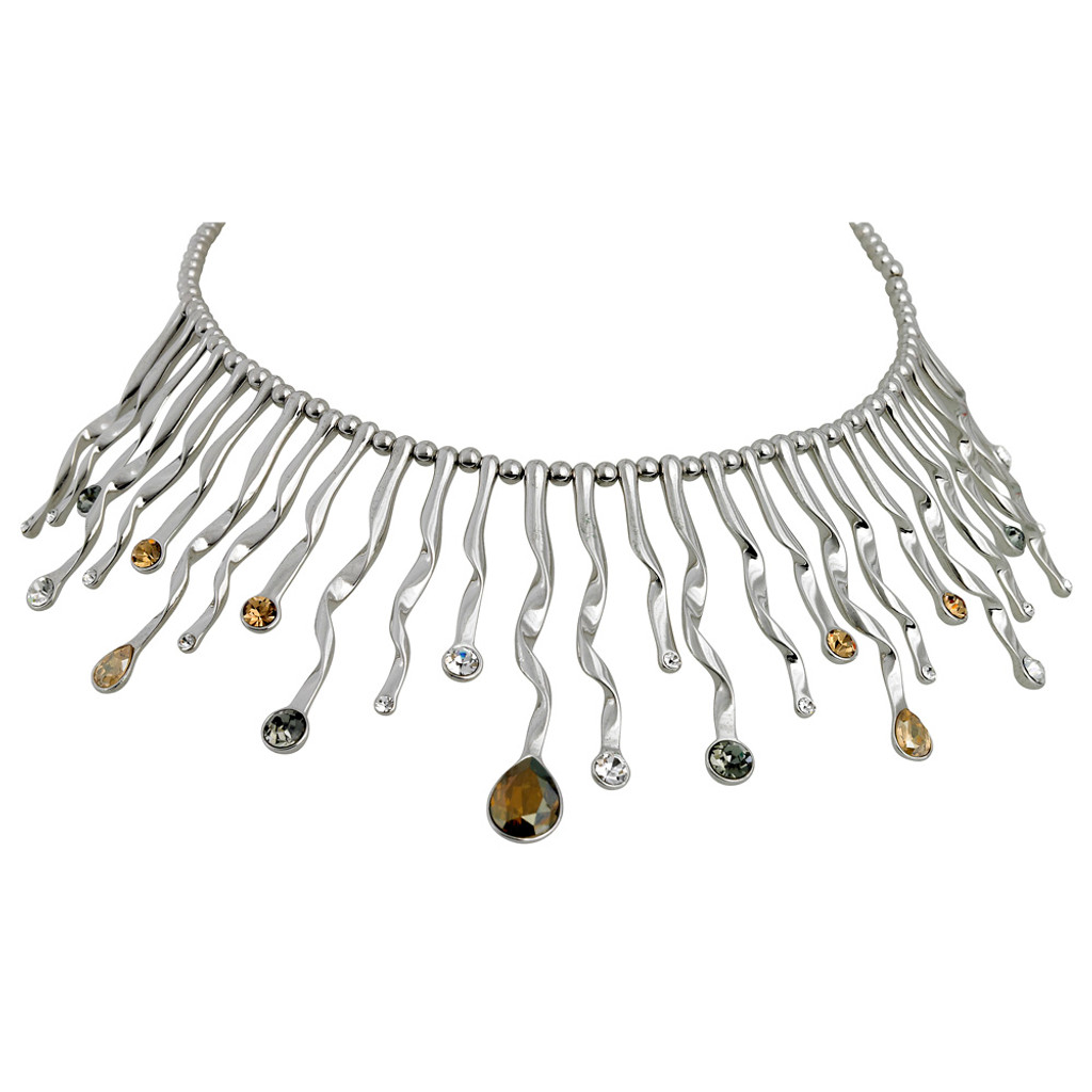 Modern Crystal Collar