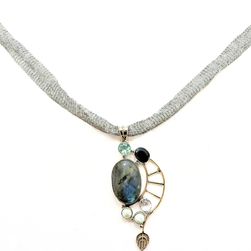 Labradorite Mystical Artisan Necklace