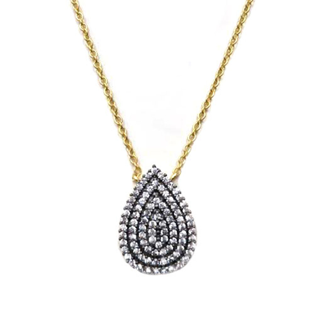 Freida Rothman's Las Olas Blvd. Teardrop Necklace