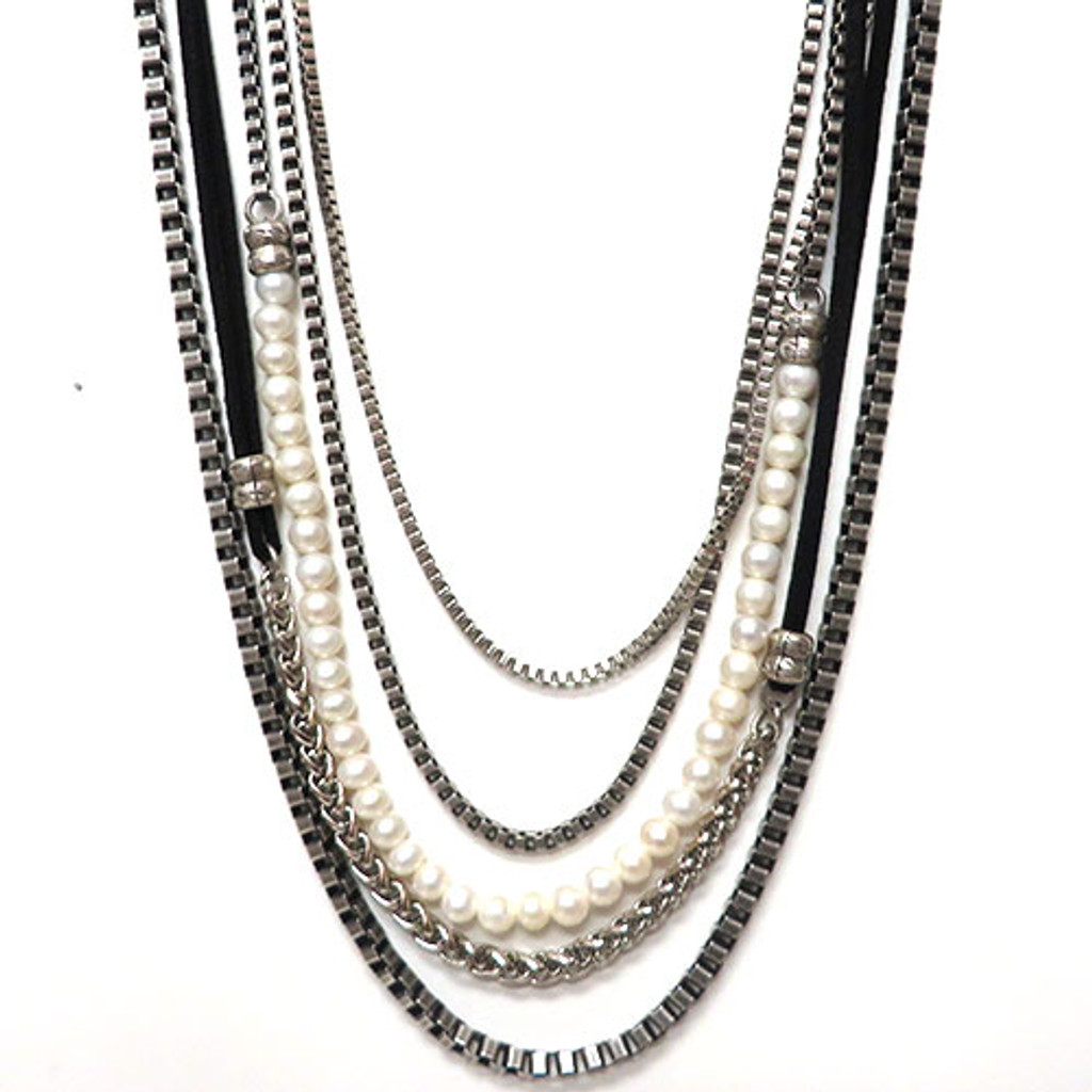 Shorter Layered and Lux Necklace