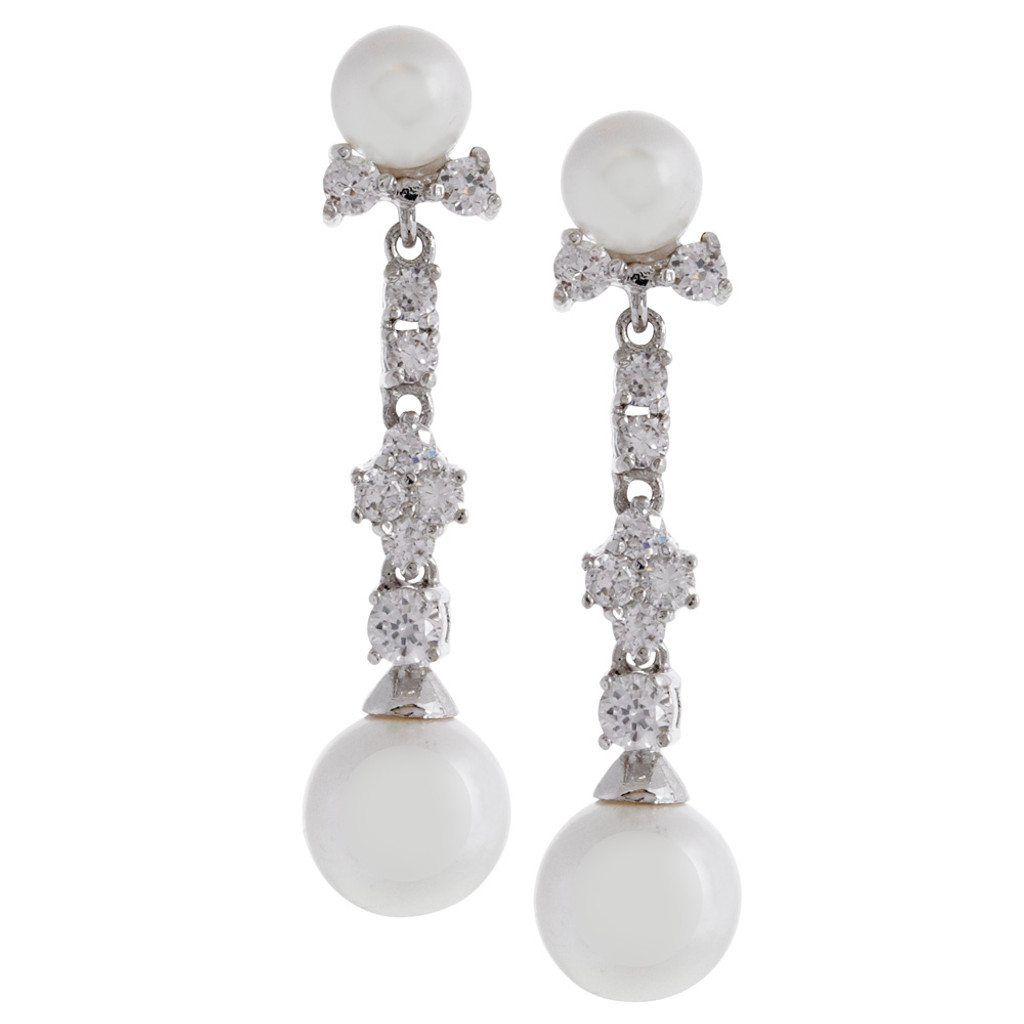 Wedding Day Glam Earring