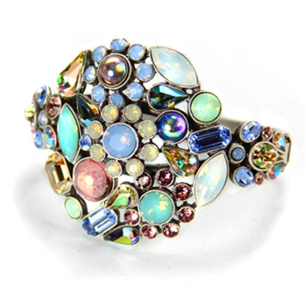 Perfectly Pastel Jeweled Bracelet