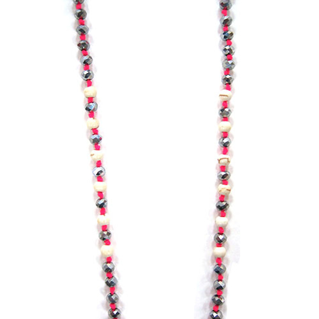 Zacasha's Bohemian Chic Crystals and Tassels Necklace 1