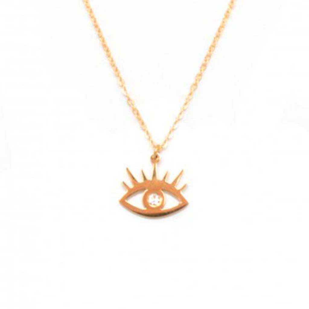 """Eye"" See You Charm Necklace"