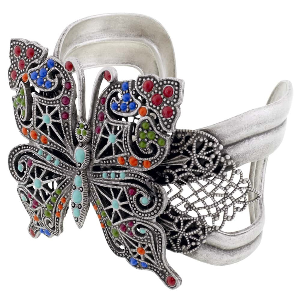 Bold Butterfly Cuff