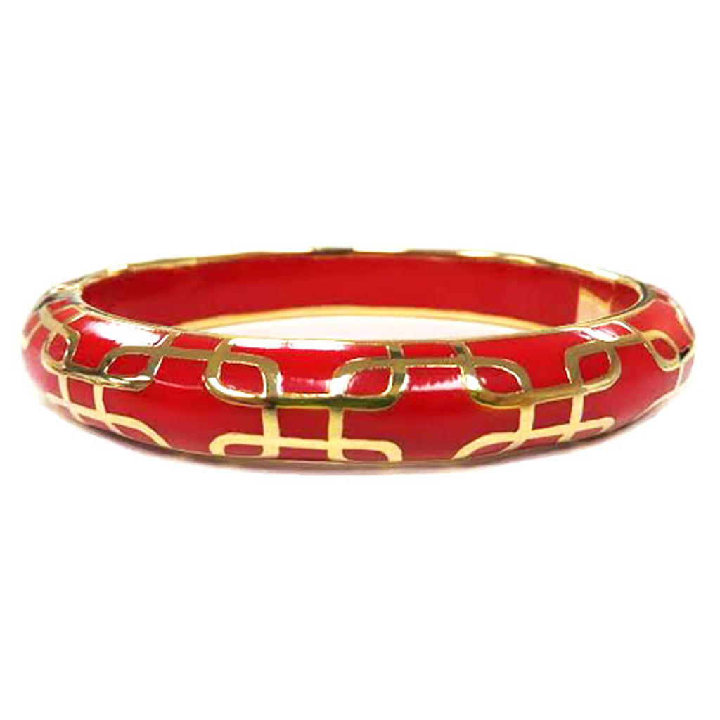 AHC's Red and Gold Sailor Bangle
