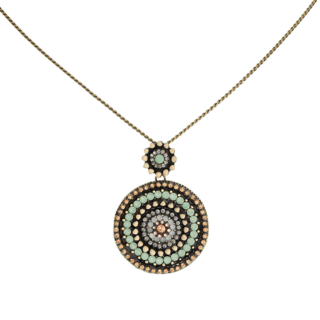 Seville Small Medallion Necklace
