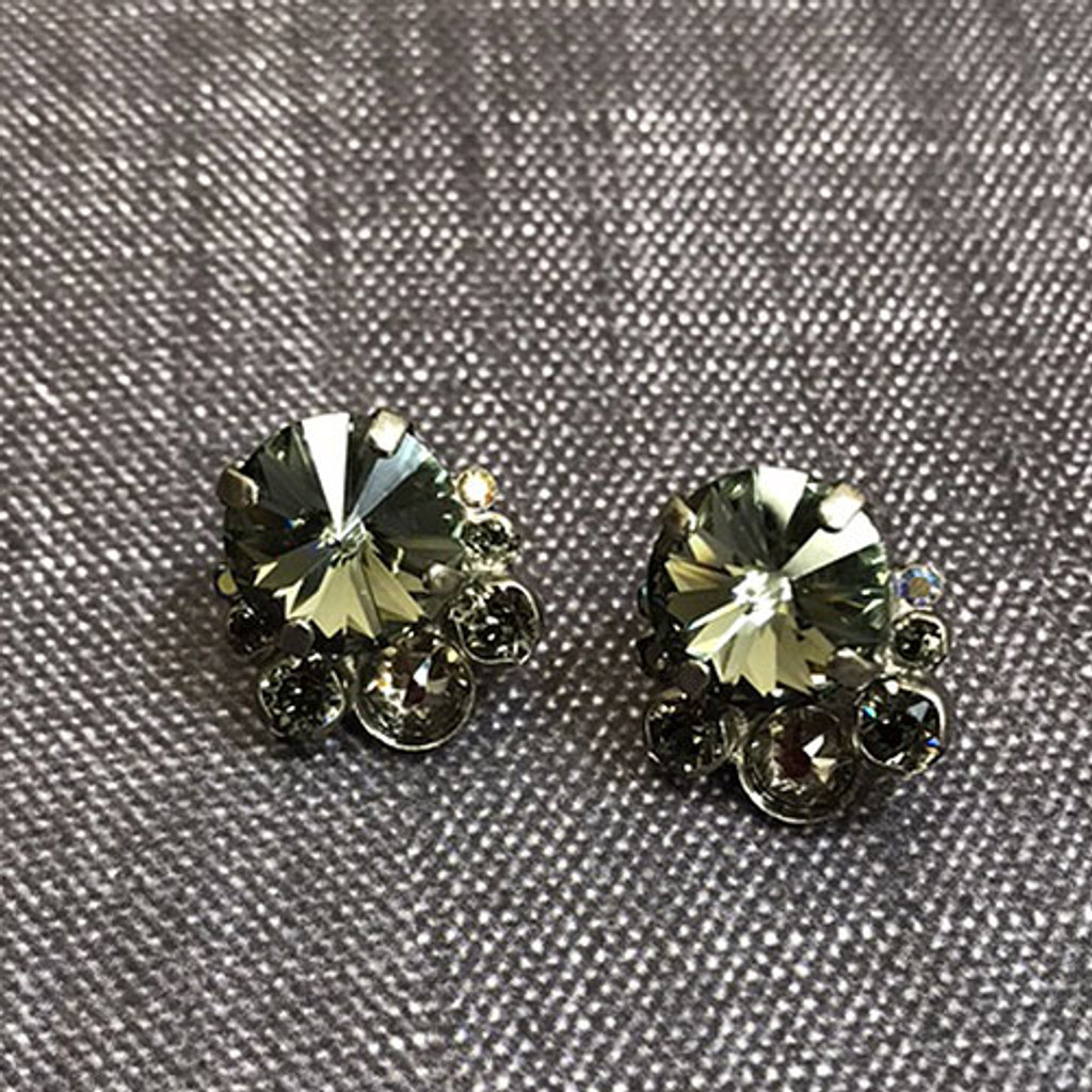 Sorrelli Crystal Cluster Post Earring