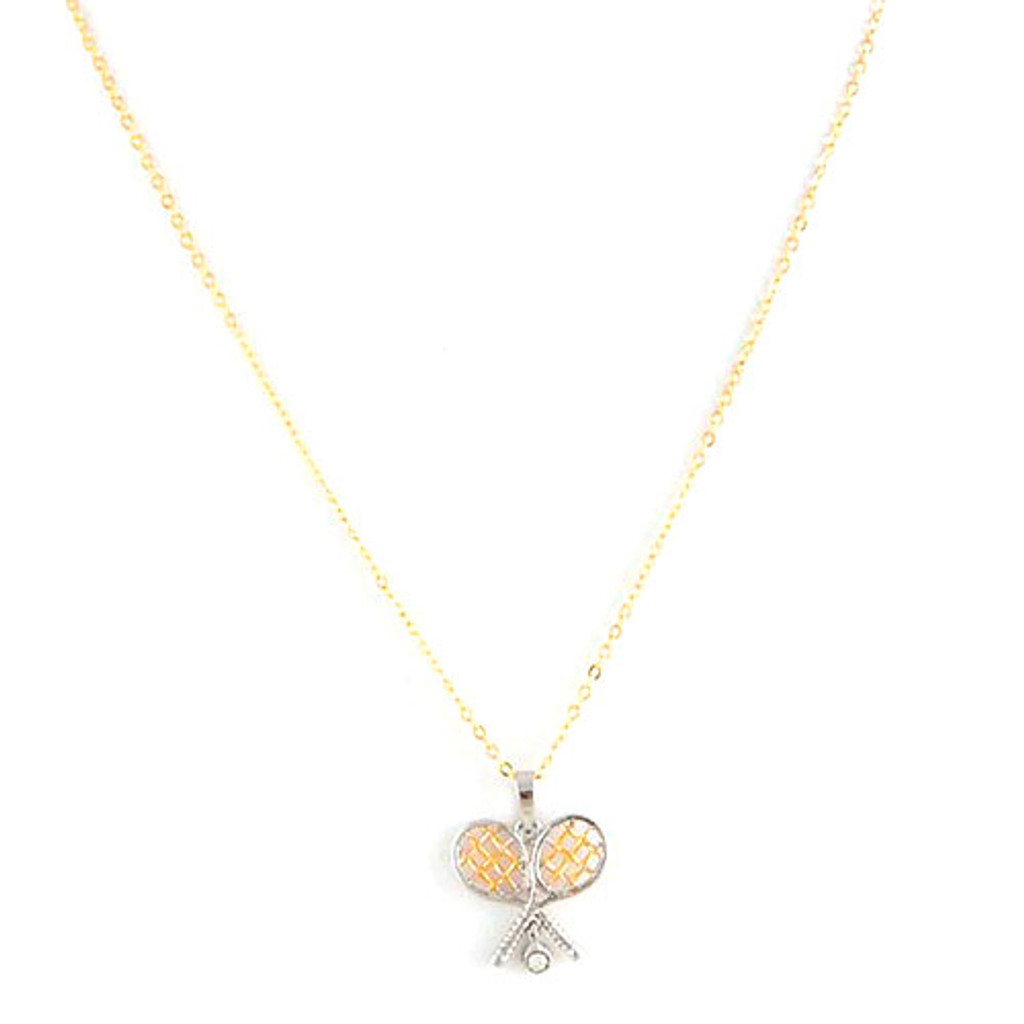Tennis Anyone? Necklace