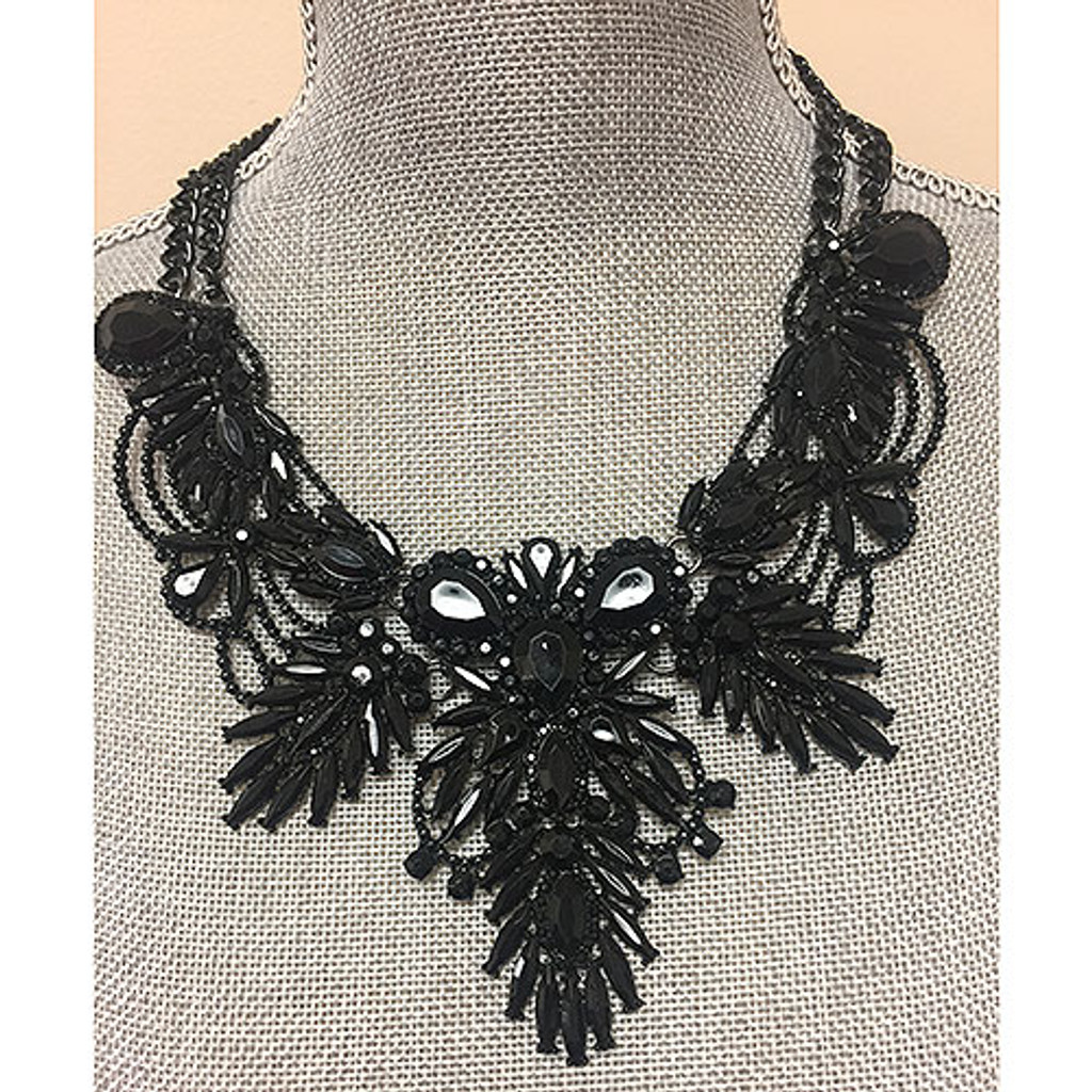 Inaugural Ball Statement Necklace