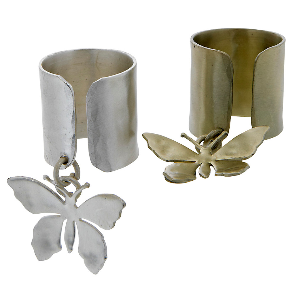 Butterfly Dangle Ring