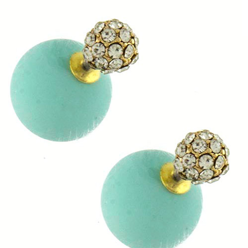 Pop Of Color 360 Pave Studs