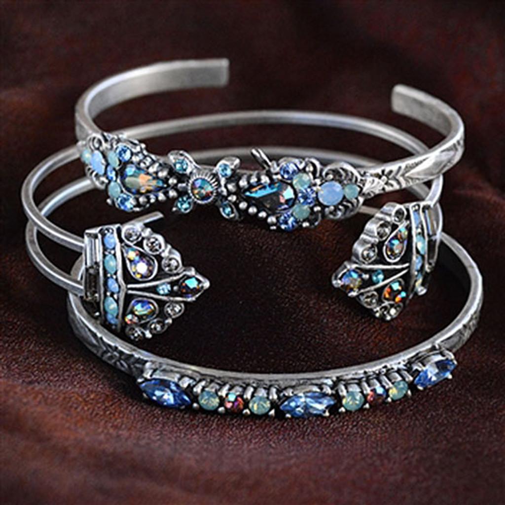 Crown Jewels Heirloom Open Cuff Bracelet