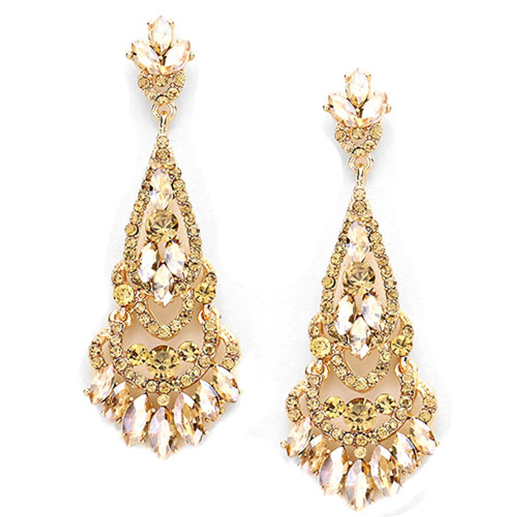 Light Colorado Topaz Grand Madame Earring