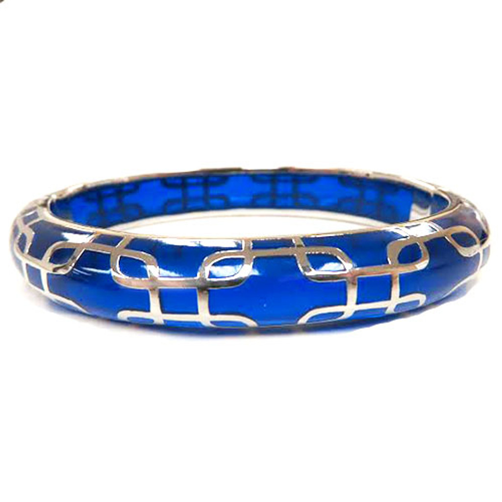 AHC's Blue and Silver Sailor Bangle