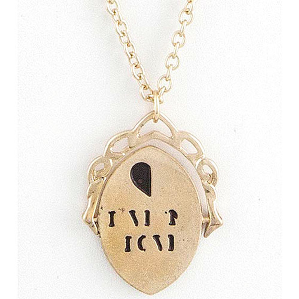 "Spinner Message ""Live n Love"" Necklace"