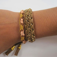 Set Of Two Boho Chic Bracelets 2