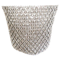 The Excelsior Crystal Mesh Cuff
