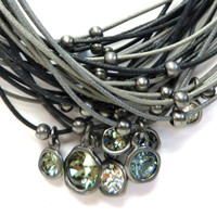 Multi-Stone, Multi-Strand Necklace