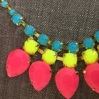 """""""Neon is Hot!"""" Necklace"""