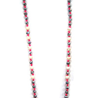 Zacasha's Bohemian Chic Crystals and Tassels Necklace 2
