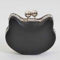 Meow!  Crystal Black Cat Bag