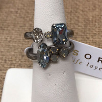 Sorrelli's Stackable Ring Set