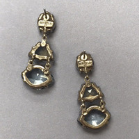 Sorrelli's Geo Earring in Pebble Blue