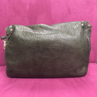 Soft Studded Fold-Over in Sage