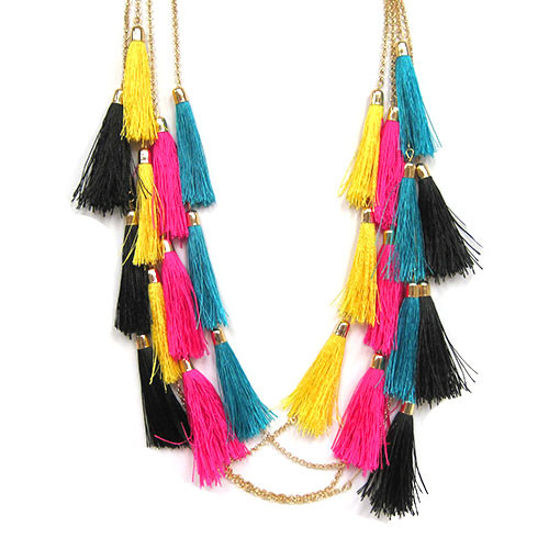 Six Tassels Necklace