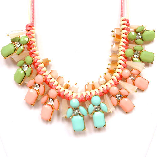 Gabii's Perfect Pastel Necklace