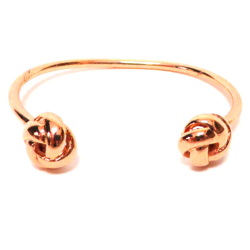 Rose Gold Eternity Knot