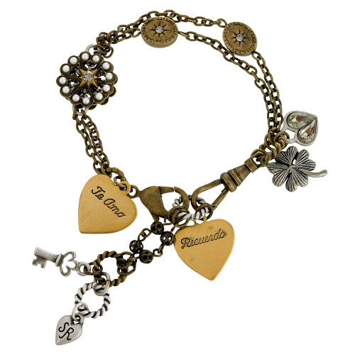 """I couldn't love you more"" Bracelet"