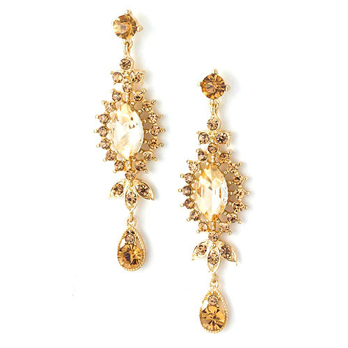 The Perfect Prom Earring Topaz
