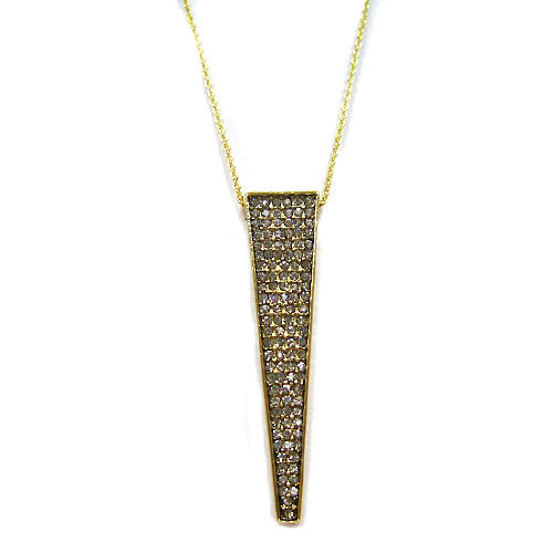 House of Harlow's Gold Kinetic Pendant Necklace