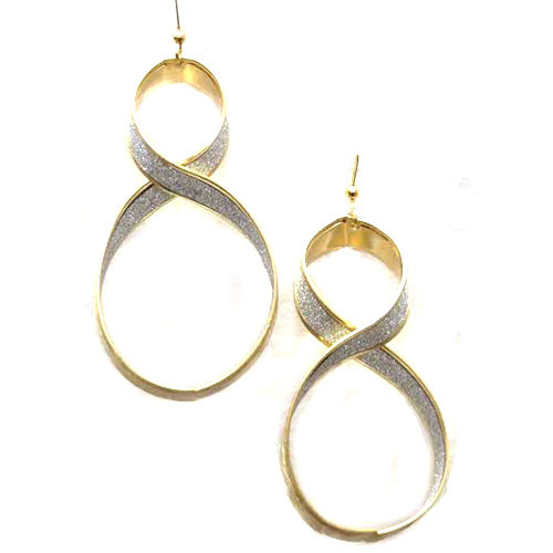 Twisted Ribbon Earring