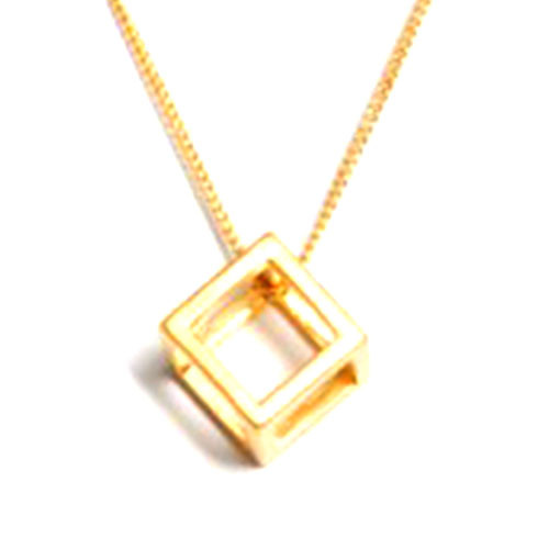 The Cube Necklace G