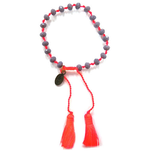 Zacasha's Bohemian Chic Crystals and Tassels Bracelet 4