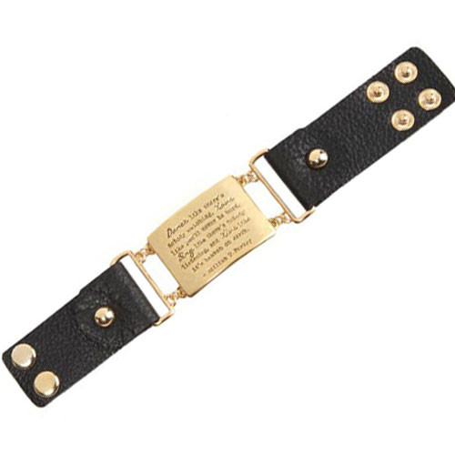 William W. Purkey Quote Bracelet