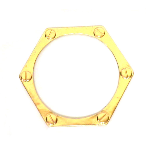 Locked in Love Bangle Gold