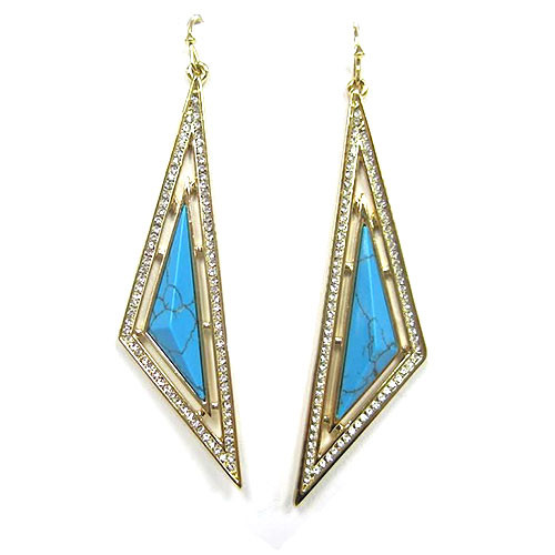 C.C. Skye Turquoise Oasis Earrings