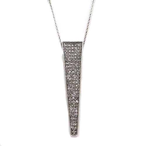 House of Harlow's Silver  Kinetic Pendant Necklace