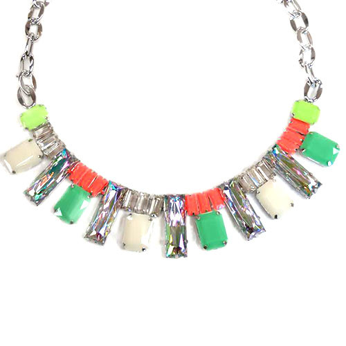 Neon Crystal Arch Collar