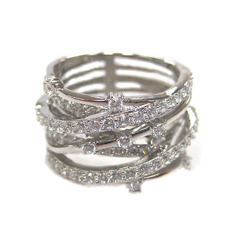 Intertwined Platinum Ring