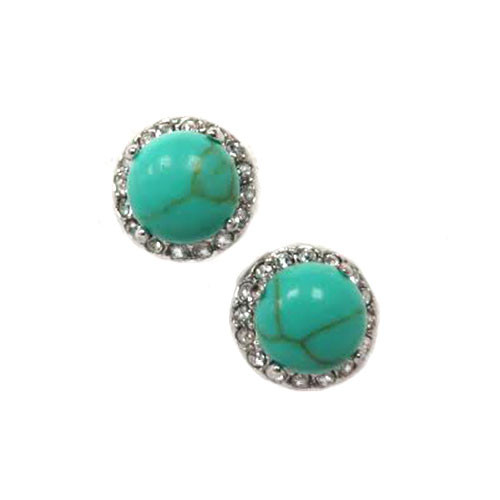 Turquoise and C.Z. Posts